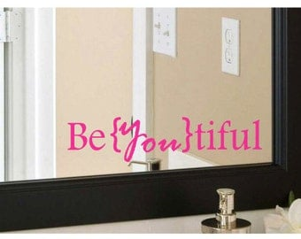 Be{you}tiful Vinyl Decal