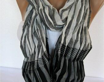 Scarf - Shawl  Elegant Scarf- Fashion Scarf-  Shawls-Scarves