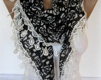 Scarf - Shawl-Elegant Scarf- Fashion Scarf-  Shawls-Scarves