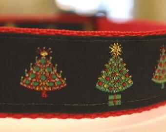 Christmas Trees Dog Collar/Adjustable/Christmas/Gift/Holiday