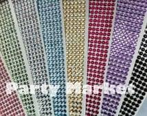 560 pcs 3mm Self Adhesive Rhinestone Crystal Bling Diamond Stickers Round Design - Wedding Decoration DIY iphone car auto Interior Exterior