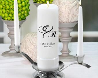 Monogram Wedding Candle - Marquis - GC330 MG3