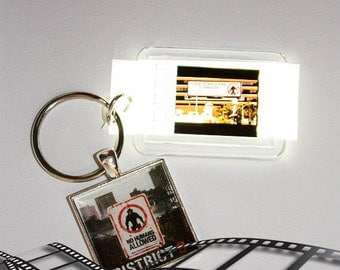 District 9 - 35mm Film Cell Key Ring, Key Chain