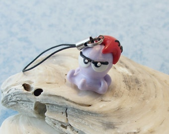 Little cute octopus and starfish -- Phone strap