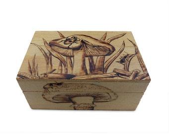 Custom Wood Burning Box