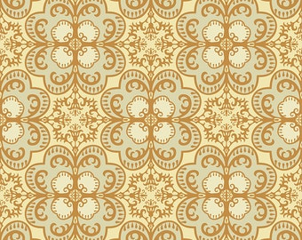 Digital Paper Clipart Seamless Pattern Background Moroccan Style Damask Pattern Instant Download Scrapbooking Vector Graphics Earthy Colors