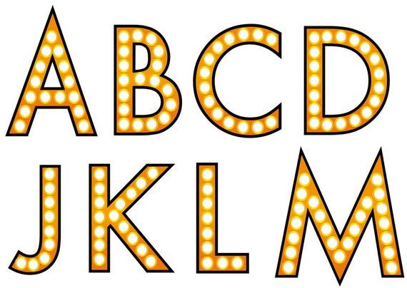 Marque Sign Alphabet Letters