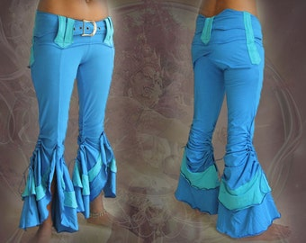 Flamingo -  stretching Flare Belly Dance Pants
