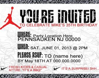 Air Jordan Invitation