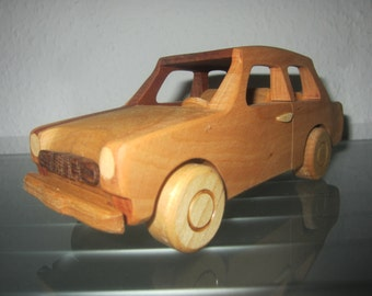 East German Trabant Trabant wooden car model car very rare handmade