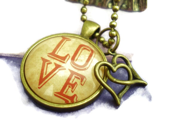Love Pendant at TJs Treasure Chest