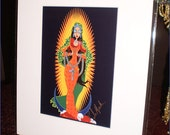 La Virgen de Guadalupe Color Print (2013)
