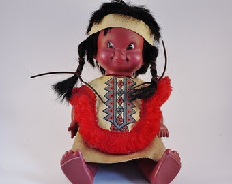 Vintage Native American Souvenir Doll