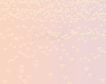 Heart background Pink Heart bokeh overlay Valentine photo background Pastel Photo overlay Pink bokeh Purple heart overlay INSTANT DOWNLOAD