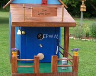 The Wren Den Bird House