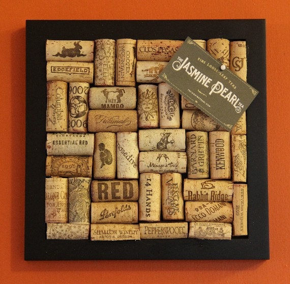 Wine cork bulletin board for Wine cork patterns