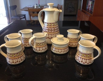 Mid Century Modern Coffee Set for 6