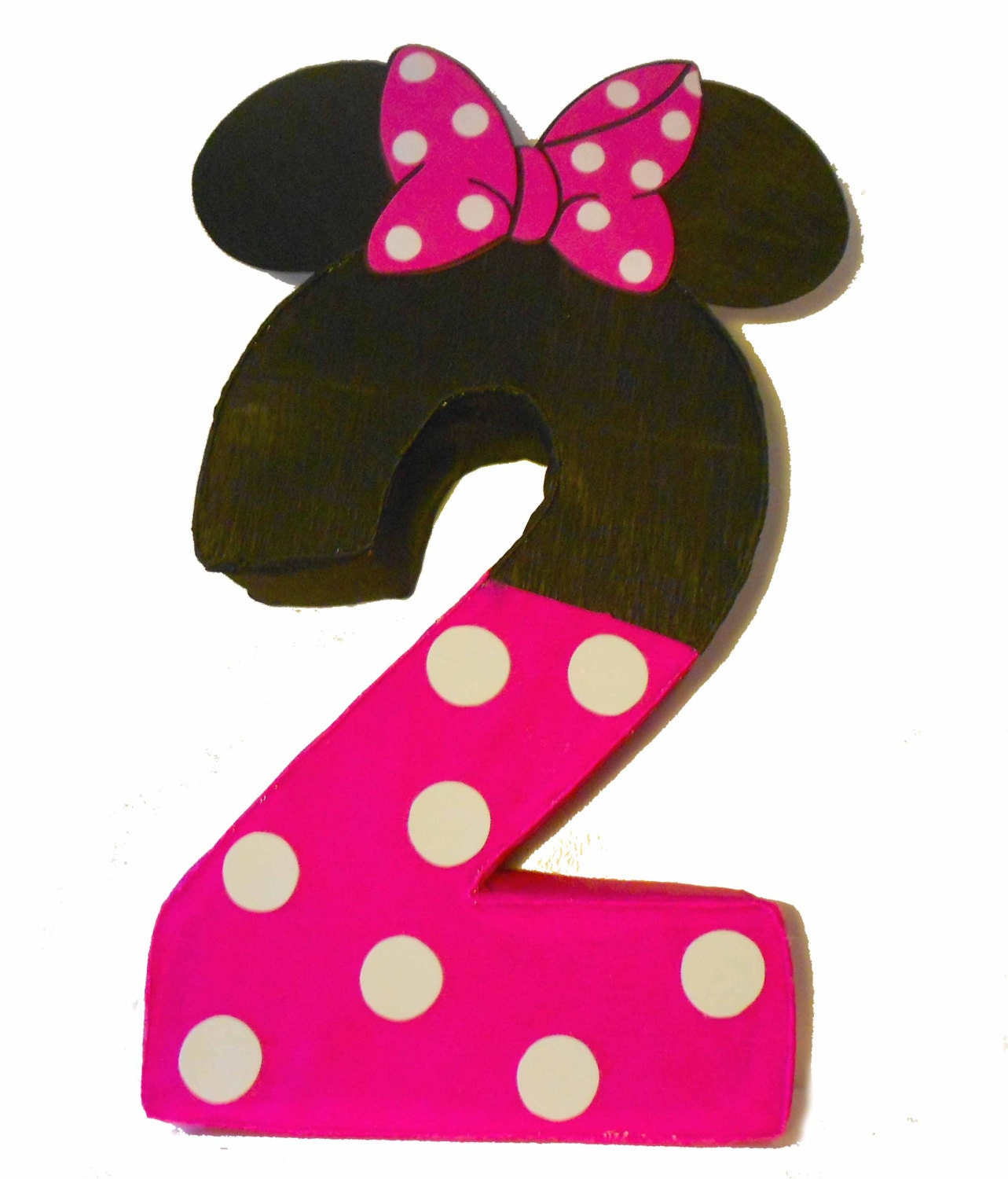 Minnie Mouse Pinata Birthday Party By