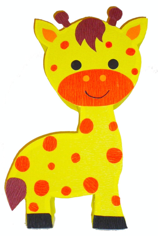 Safari pinata giraffe birthday pi ata zoo party decoration for Decoration pinata