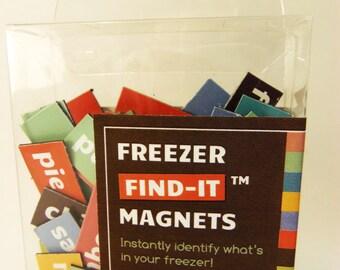Freezer Find-It Magnets
