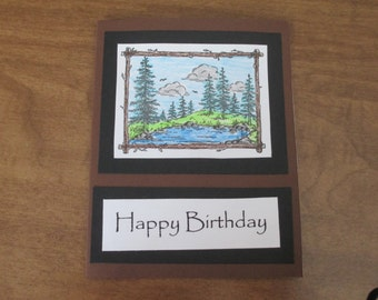 Outdoors Birthday Card