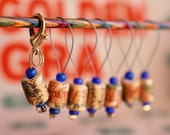 Orange Pekoe Stitch Markers
