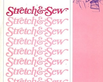 Stretch & Sew 300  Sewing Pattern  ID59