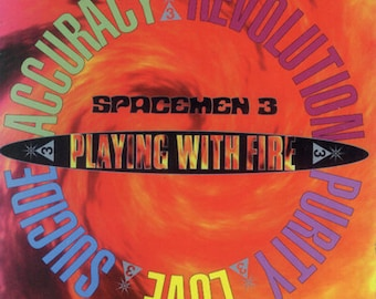 Spacemen 3   Playing With Fire  CASSETTE