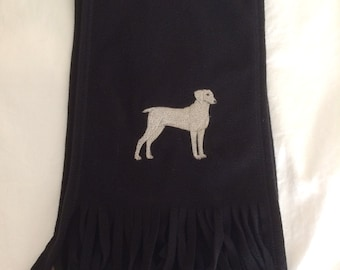 Weimaraner scarf