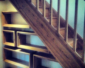 Under Stair Storage - Oak