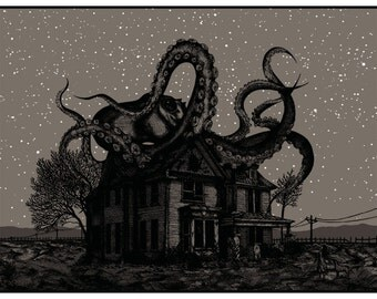 """Limited Edition Art Print: """"Something's up at the old Cooper place"""" (Variant)"""