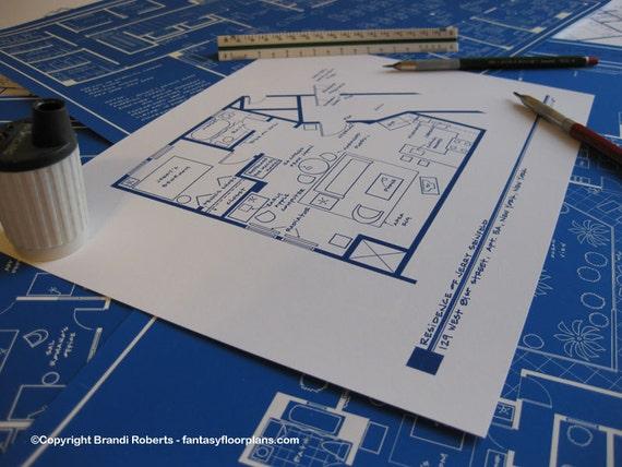 Tony Soprano House Floor Plan
