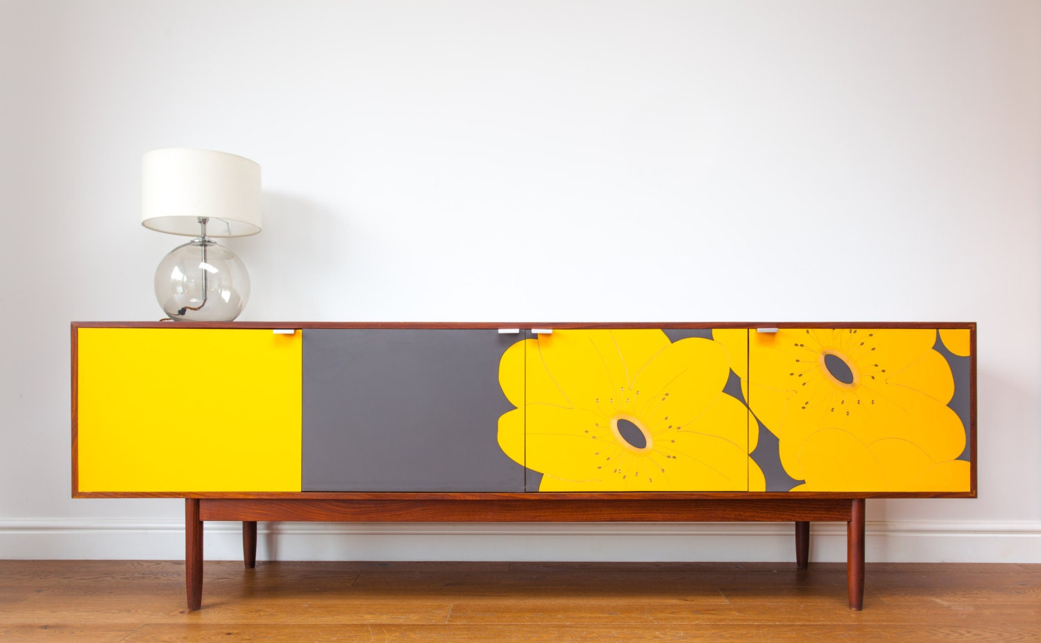 Mid Century Upcycled Sideboard