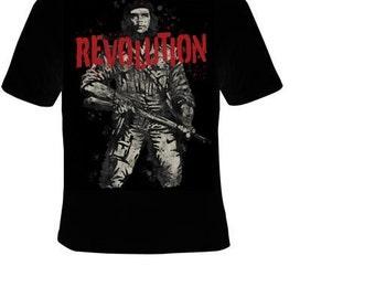 Tshirt revolution che guevara T-shirts tee t shirt political movie actor