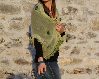 Felt scarf Nuno
