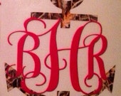 Monogram with Anchor Decal
