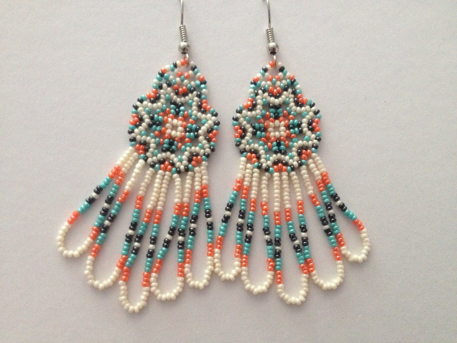 Handmade native american beaded earrings for How to make american indian jewelry