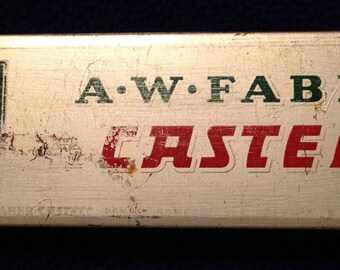 1950's Vintage  A. W. Faber-Castell  Pencil Tin