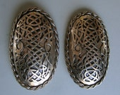 A Pair of Viking Cup Brooches in Bronze