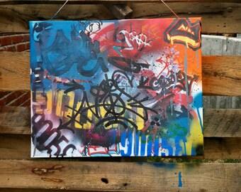 Custom Graffiti Piece