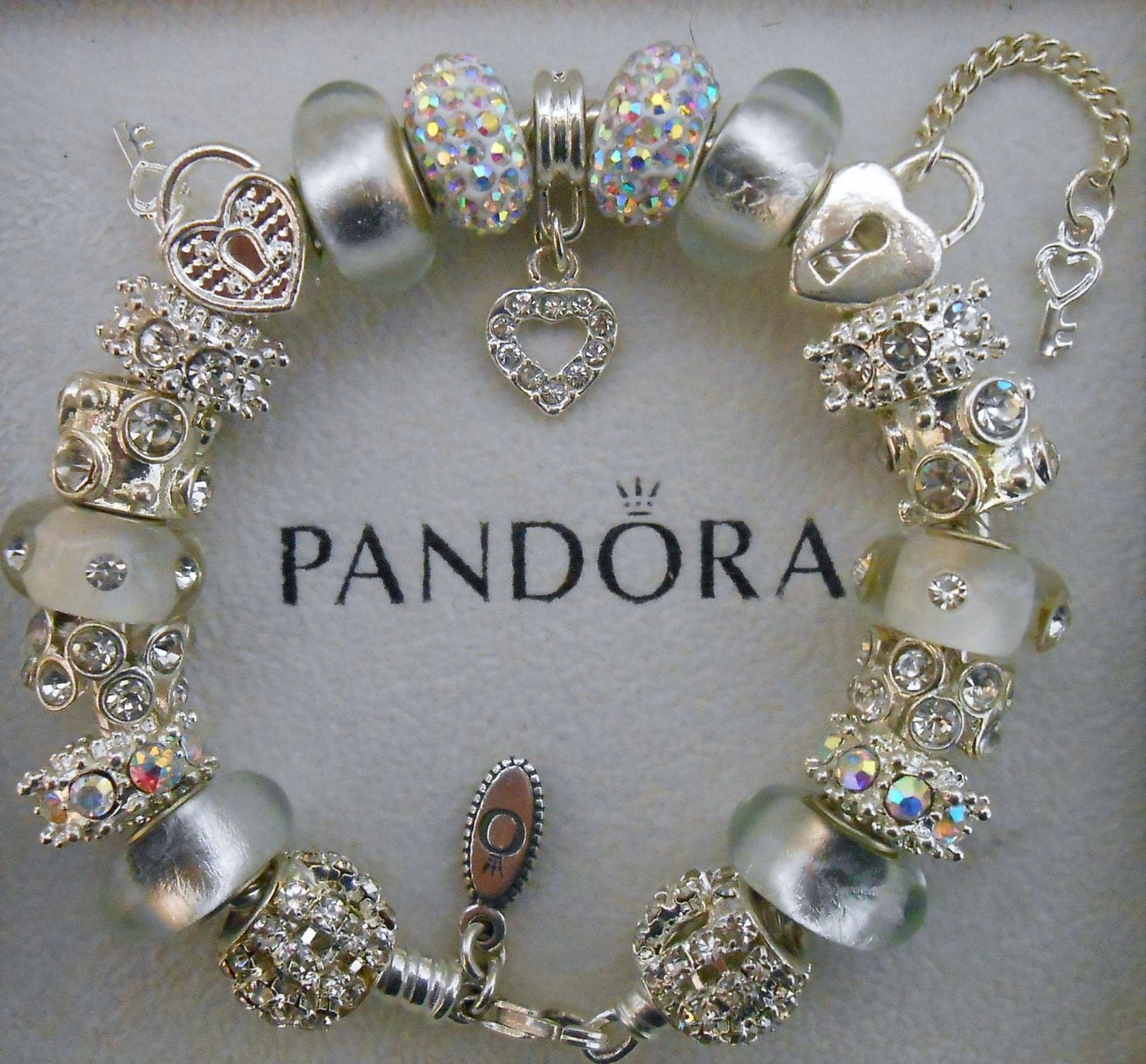 Jewelry Box For Pandora Charms: Authentic Pandora Bracelet Or Non-branded European Charm