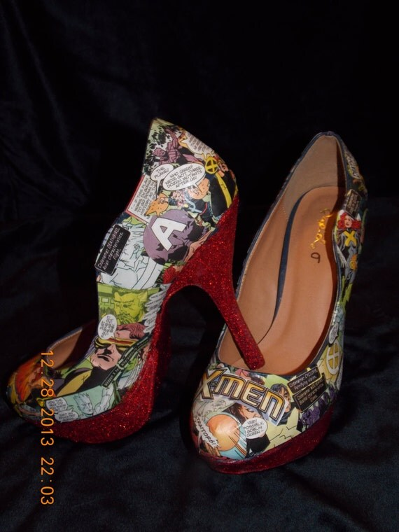 Custom Comic Book High Heels