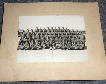 Group photograph of British regiment - Royal Artillery ?