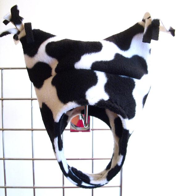 Winter Fleece Baby Girls Cow Print Fleece By