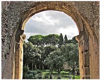 Roman fine art print photography Rome Italy Colosseum arch history 8x10 print, Roman Colosseum
