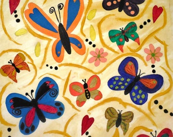 Butterfly (Original) Painting
