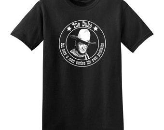 John Wayne t-shirt new vintage style jersey the duke choose size XS-3XL mens or ladies