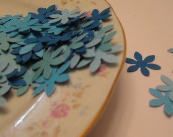 100 Hand Punched Hydrangeas / Scrapbooking Embellishments / Card Embellishments / Confetti / ANY COLORS