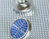 Cool Retro Pan-Am Tie/Lapel Pin Badge