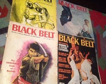 Black belt vintage 1966 1977